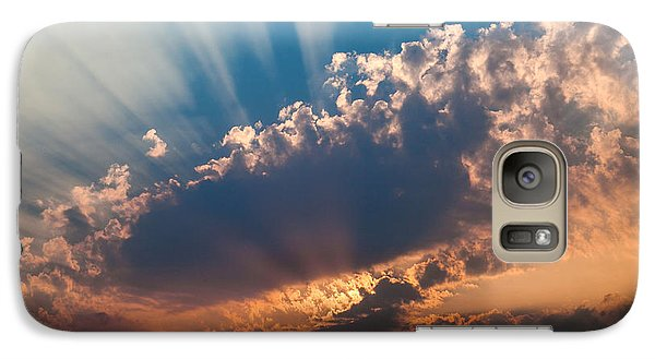 Galaxy Case featuring the photograph Spirit In The Sky by Jack Bell