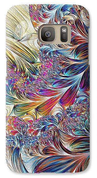 Galaxy Case featuring the digital art Spirit by Lea Wiggins