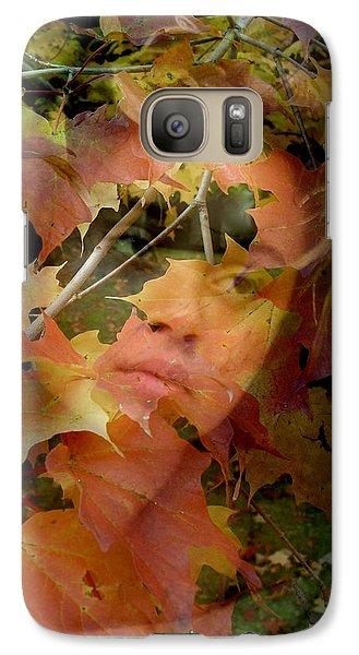 Galaxy Case featuring the photograph Spirit Of Autumn  by Jodie Marie Anne Richardson Traugott          aka jm-ART