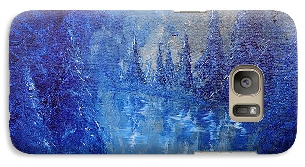 Galaxy Case featuring the painting Spirit Pond by Jacqueline Athmann