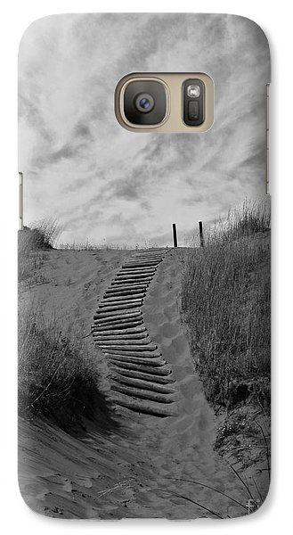 Galaxy Case featuring the photograph Spirit Sands by Cendrine Marrouat