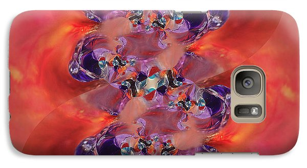 Galaxy Case featuring the digital art Spiritual Dna by Margie Chapman
