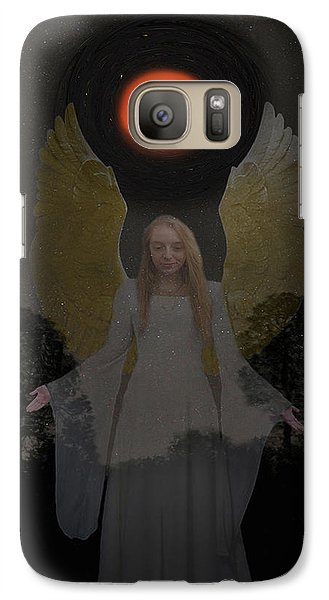 Galaxy Case featuring the photograph Spiritual Light by Eric Kempson