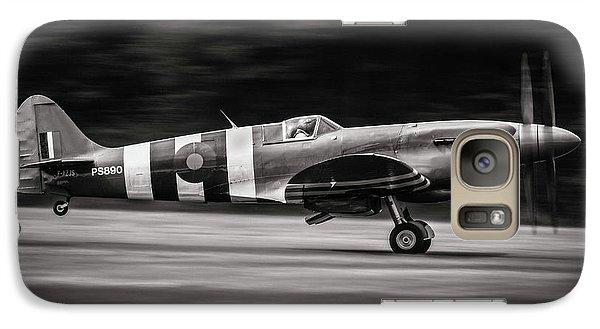 Airplanes Galaxy S7 Case - Spitfire Mk Xix by J??r??me Licois