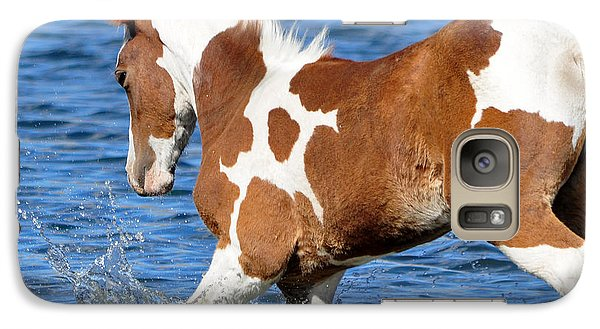 Galaxy Case featuring the photograph Splash by Lula Adams