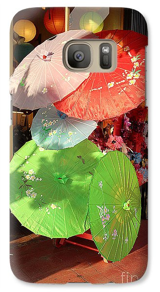 Galaxy Case featuring the photograph Splash Of Color by Kevin Ashley