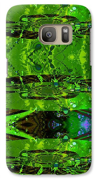 Galaxy Case featuring the photograph Splatter Galaxy by Robert Kernodle