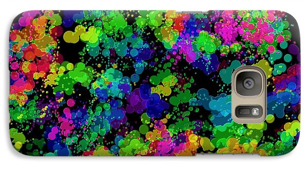 Galaxy Case featuring the photograph Splatter by Mark Blauhoefer