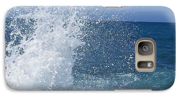 Galaxy Case featuring the photograph Splash by Jean Marie Maggi