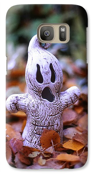 Galaxy Case featuring the photograph Spooky Autumn by Aaron Aldrich