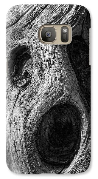 Galaxy Case featuring the photograph Spooky Tree by Mitch Shindelbower