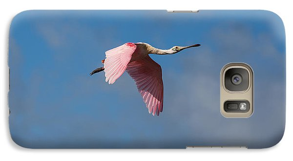Galaxy Case featuring the photograph Spoonie In Flight by John M Bailey