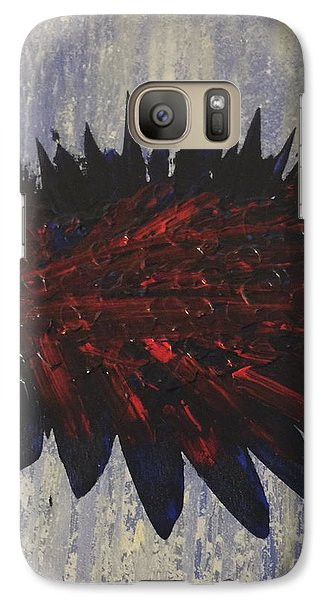 Galaxy Case featuring the painting On The Water by Theresa Kennedy DuPay