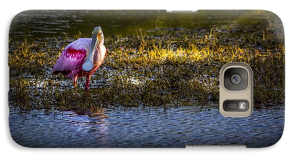 Spoonbill Galaxy S7 Case - Spotlight by Marvin Spates