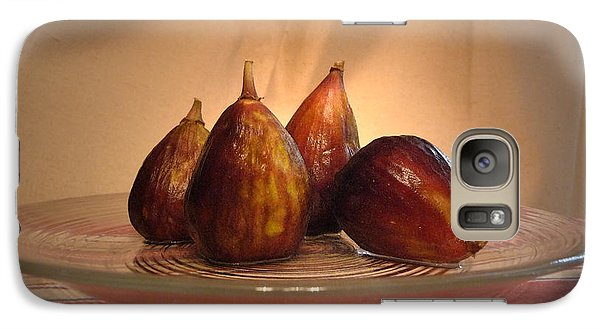 Galaxy Case featuring the photograph Spotlight On Figs by Margie Avellino