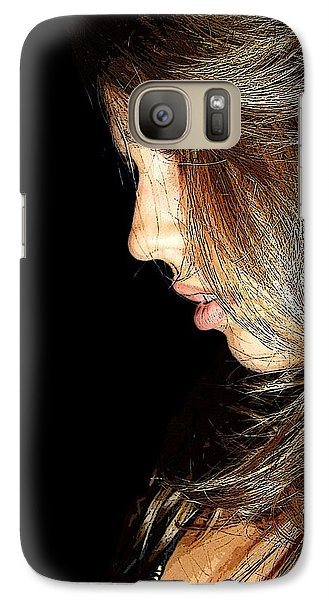 Galaxy Case featuring the photograph Spotlight by Zinvolle Art