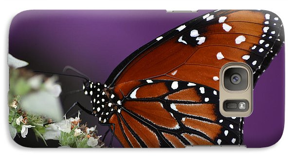 Galaxy Case featuring the photograph Spotted Beauty by Mary Zeman