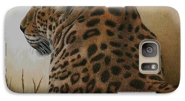 Galaxy Case featuring the painting Spotted Elegance by Pat Erickson