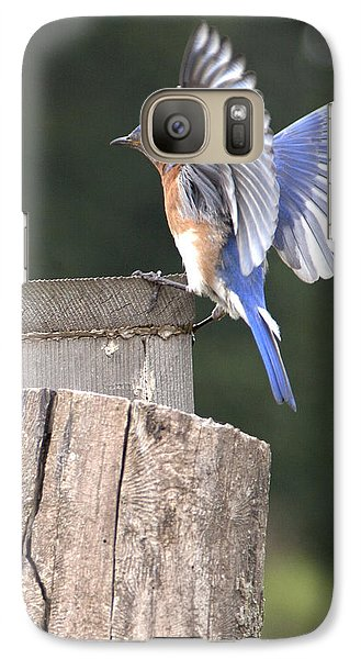 Galaxy Case featuring the photograph Spread Your Wings by John Crothers