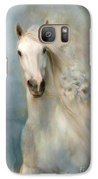Galaxy Case featuring the digital art Spring Arrival by Dorota Kudyba
