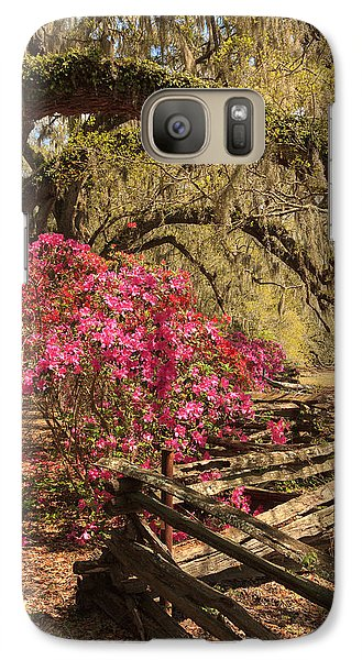 Galaxy Case featuring the photograph Spring Beauty by Patricia Schaefer
