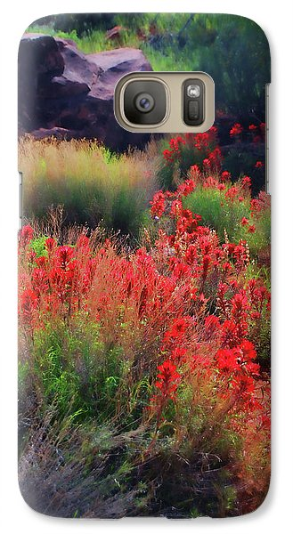 Galaxy Case featuring the photograph Spring Blooms by Barbara Manis