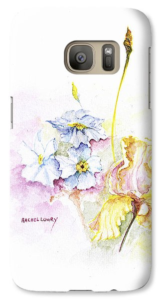 Galaxy Case featuring the painting Spring Bouquet by Rachel Lowry