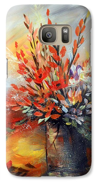 Galaxy Case featuring the painting Spring Branches by Dorothy Maier