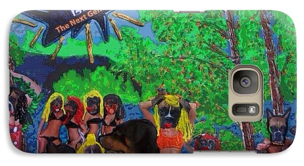 Galaxy Case featuring the painting Spring Break 2013 by Lisa Piper
