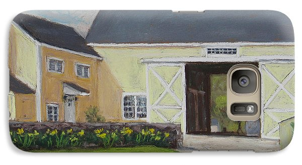 Galaxy Case featuring the painting Spring Chores by Vikki Bouffard
