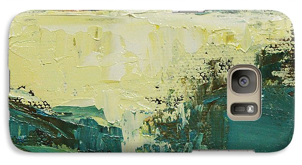 Galaxy Case featuring the painting Spring Dance by Becky Kim