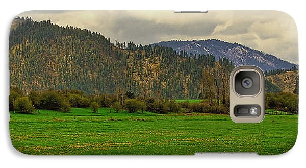 Galaxy Case featuring the photograph Spring Dandylions by Sam Rosen