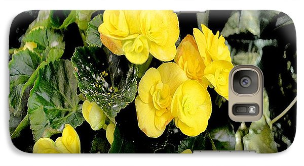 Galaxy Case featuring the photograph Spring Delight In Yellow by Luther Fine Art