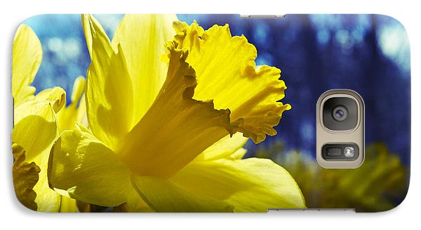 Galaxy Case featuring the photograph Spring Dreams by Mary Zeman