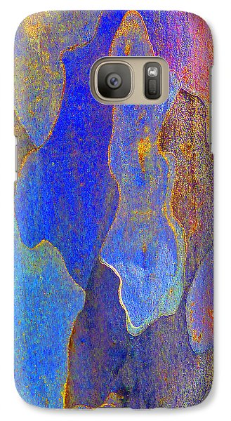 Galaxy Case featuring the photograph Spring Eucalypt Abstract 10 by Margaret Saheed