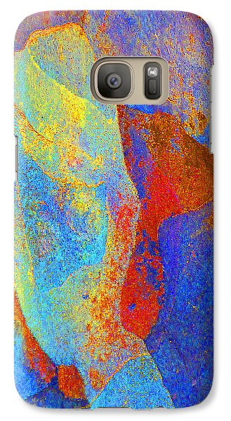 Galaxy Case featuring the photograph Spring Eucalypt Abstract 13 by Margaret Saheed