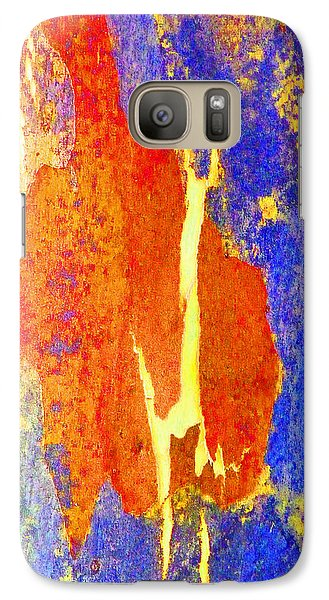 Galaxy Case featuring the photograph Spring Eucalypt Abstract 5 by Margaret Saheed