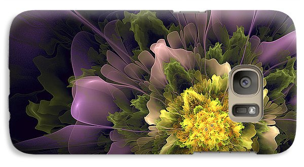 Galaxy Case featuring the digital art Spring Floral by Linda Whiteside