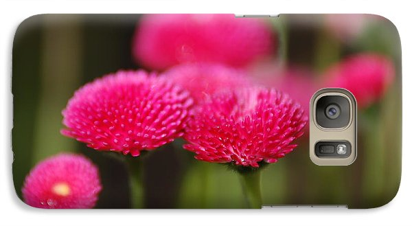 Galaxy Case featuring the photograph Spring Flowers by Ron Roberts