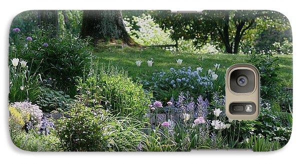 Galaxy Case featuring the photograph Spring Garden by Living Color Photography Lorraine Lynch