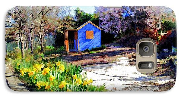 Galaxy Case featuring the photograph Spring Garden by Paul Svensen
