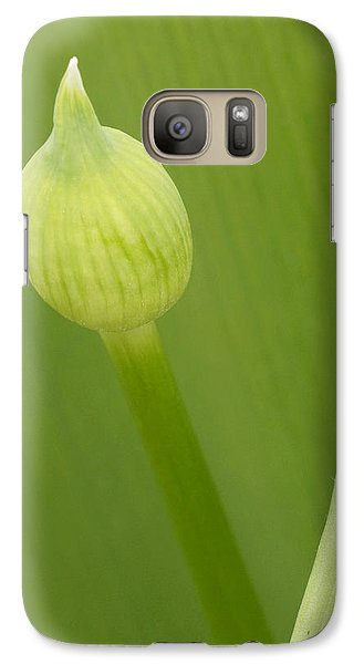 Galaxy Case featuring the photograph Spring Green by Inge Riis McDonald