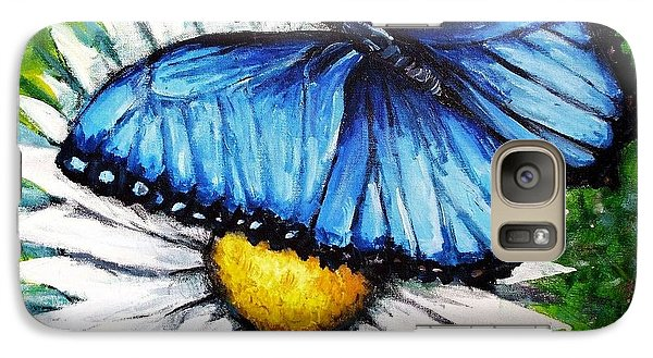 Galaxy Case featuring the painting Spring Has Sprung by Shana Rowe Jackson