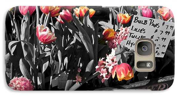 Galaxy Case featuring the photograph Spring In A Wagon by Sandi Mikuse