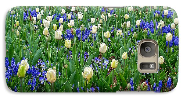 Galaxy Case featuring the photograph Spring In Giverny by Kathy Ponce