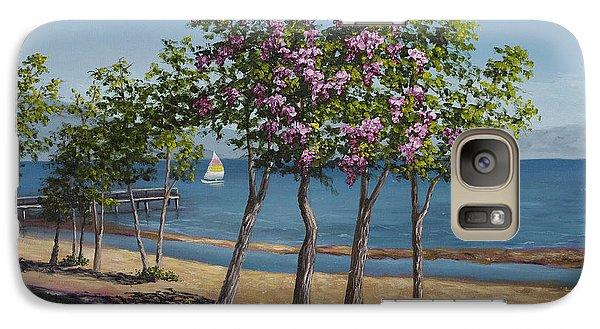 Spring In Kings Beach Lake Tahoe Galaxy S7 Case