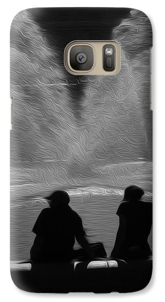 Galaxy Case featuring the digital art Spring In The Metro by Kelvin Booker