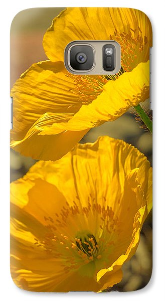 Galaxy Case featuring the photograph Spring In Yellow by Rima Biswas