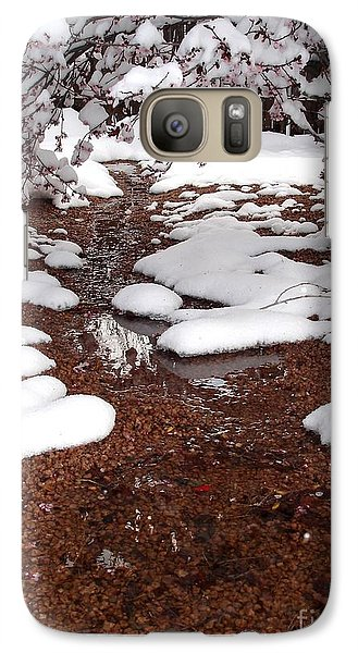 Galaxy Case featuring the photograph Spring Into Winter by Kerri Mortenson