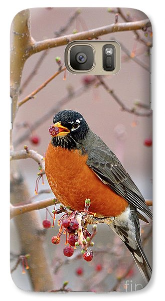 Spring Is Coming Galaxy Case by Betty LaRue